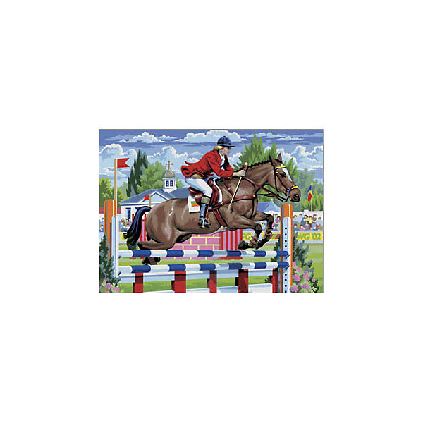 "Картина по номерам Royal&Langnickel ""Скачки"", 28,5х35 см"