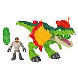 """Игровой набор Jurassic World """"Динозавры и герои"""" Дилофозавр и Агент"""