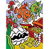 """Картина по номерам для малышей Royal&Langnickel """"Подводные сокровища"""", 22,5х29,8 см"""