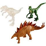 """Набор фигурок Jurassic World """"Мини-динозавры"""" 3 шт, вид 1"""