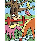 """Картина по номерам для малышей Royal&Langnickel """"На ферме"""", 22,5х29,8 см"""