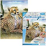 """Мини-картина по номерам пастелями Royal&Langnickel """"Леопарды"""", 14х20 см"""
