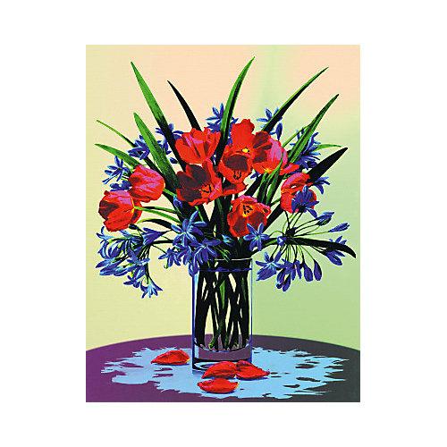 "Картина по номерам на холсте Royal&Langnickel ""Букет"", 22х30 см от Royal&Langnickel"