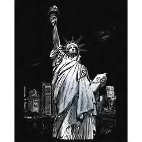"""Гравюра Royal&Langnickel """"Статуя Свободы"""", серебро от Royal&Langnickel"""