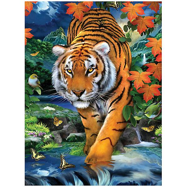 """Картина по номерам Royal&Langnickel """"Тигр на охоте"""", 22х29 см"""
