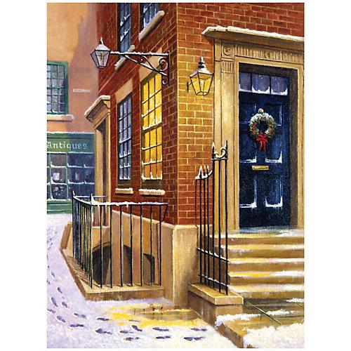 """Картина по номерам Royal&Langnickel """"Улица в снегу"""", 22х29 см от Royal&Langnickel"""