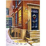 "Картина по номерам Royal&Langnickel ""Улица в снегу"", 22х29 см"
