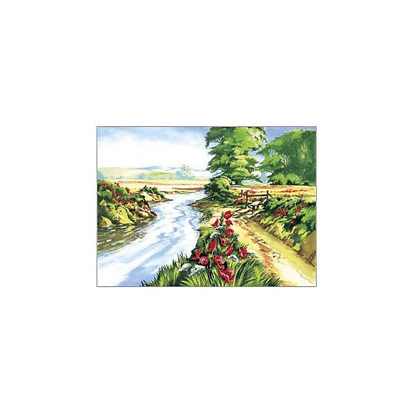 "Картина по номерам Royal&Langnickel ""Маковое поле"", 28,5х35 см"