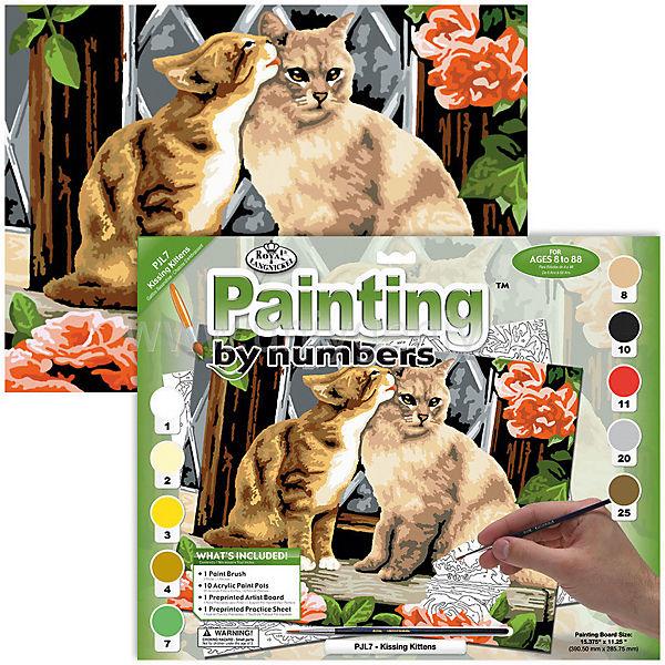 "Картина по номерам Royal&Langnickel ""Котята"", 28,5х35 см"