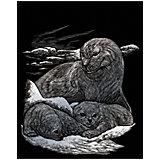 "Гравюра Royal&Langnickel ""Тюлени"", серебро"