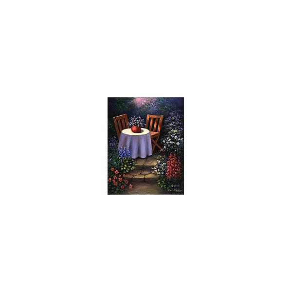"""Картина по номерам на холсте Гризайль Royal&Langnickel """"В саду"""", 28х35 см"""