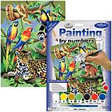 """Картина по номерам Royal&Langnickel """"В джунглях"""", 22х29 см"""
