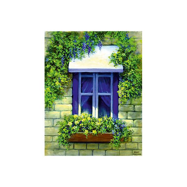 """Картина по номерам на холсте Гризайль Royal&Langnickel """"Европейское окно"""", 28х35 см"""