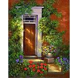 "Картина по номерам на холсте Гризайль Royal&Langnickel ""Улица Роз"", 28х35 см"