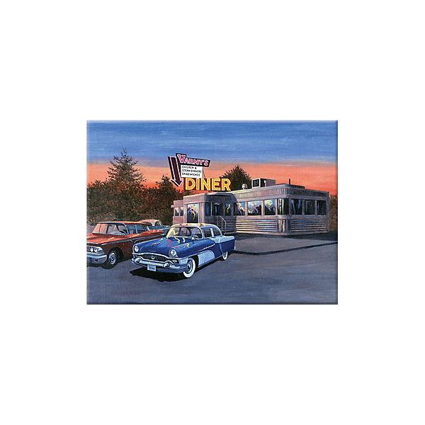 "Картина по номерам Royal&Langnickel ""Кафе 50-х"", 28,5х35 см"