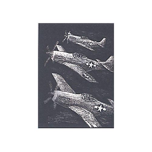 """Гравюра Royal&Langnickel """"Истребители"""", серебро от Royal&Langnickel"""