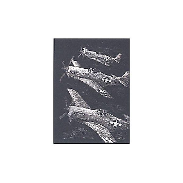 """Гравюра Royal&Langnickel """"Истребители"""", серебро"""