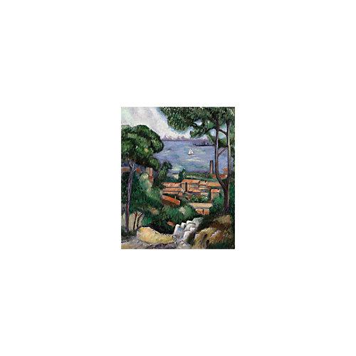 """Картина по номерам на холсте Гризайль Royal&Langnickel """"Вид на Эстак"""", 28х35 см от Royal&Langnickel"""