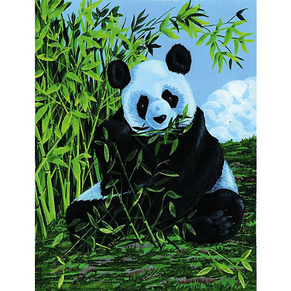 "Картина по номерам на холсте Royal&Langnickel ""Панда"", 22х30 см"