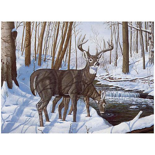 """Картина по номерам Royal&Langnickel """"Олени"""", 28,5х35 см от Royal&Langnickel"""