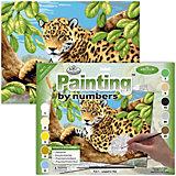 "Картина по номерам Royal&Langnickel ""Леопард на дереве"", 28,5х35 см"