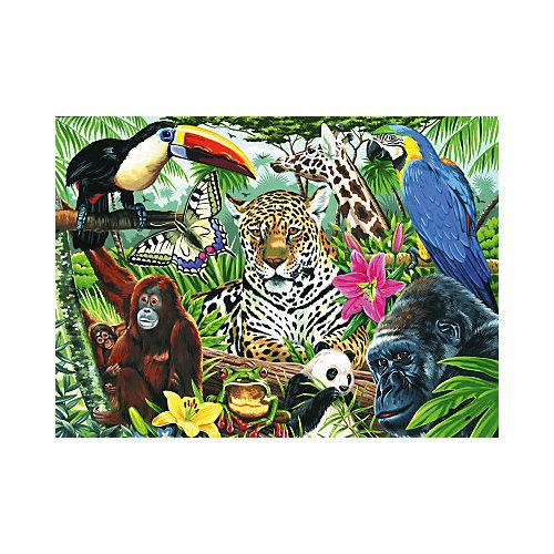 "Картина по номерам на холсте Royal&Langnickel ""Зоопарк"", 28х35 см от Royal&Langnickel"