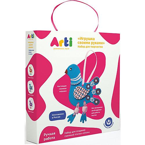 """Набор для создания глиняной птички Arti """"Олли"""" от Arti"""