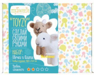 """Набор для валяния Toyzy  """"Овечка и козлик"""""""