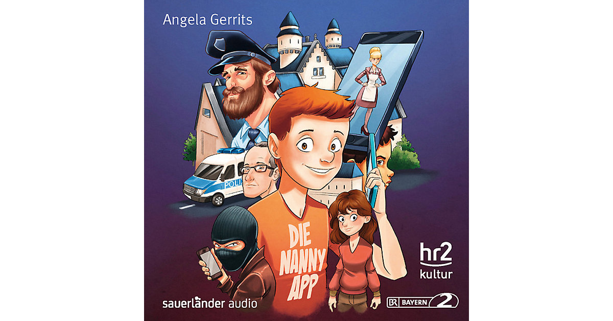 Die Nanny-App, 1 Audio-CD Hörbuch