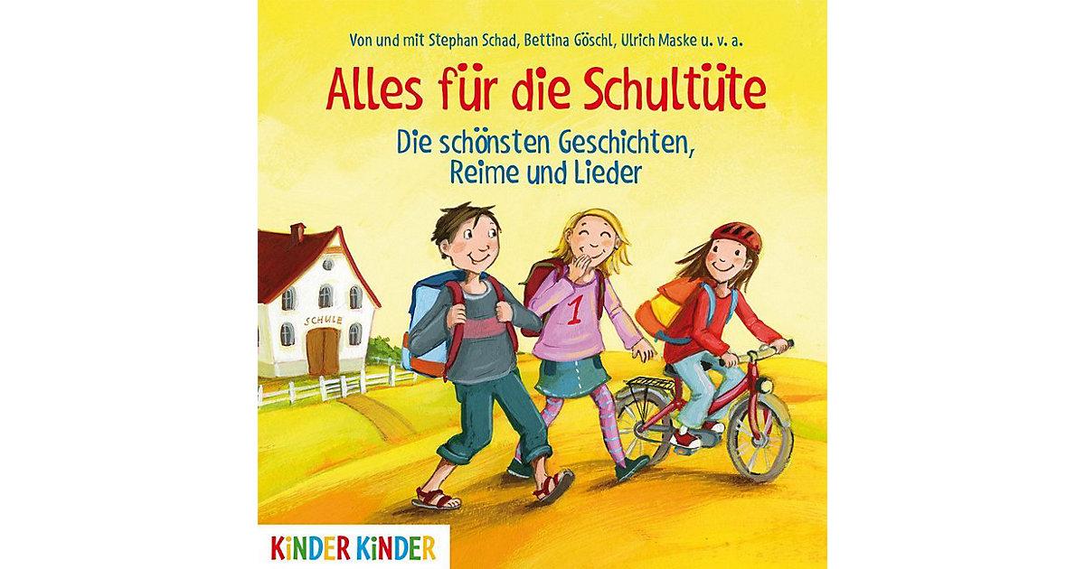 Alles die Schultüte: Die schönsten Geschichten, Reime und Lieder, 1 Audio-CD Hörbuch  Kleinkinder