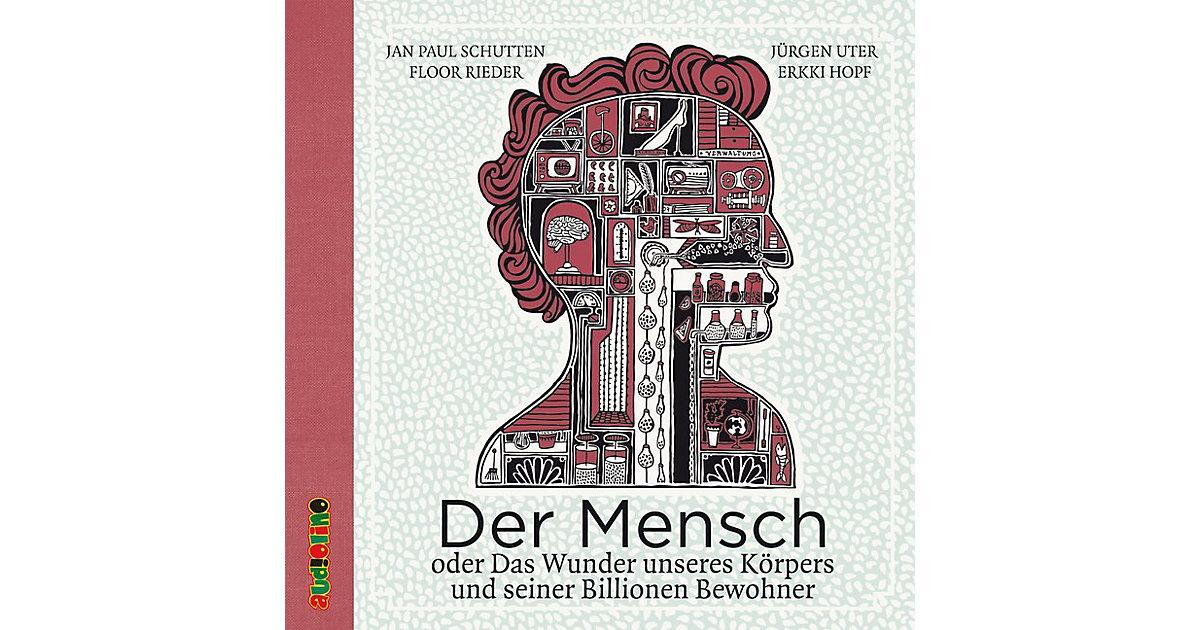 Der Mensch, 3 Audio-CDs