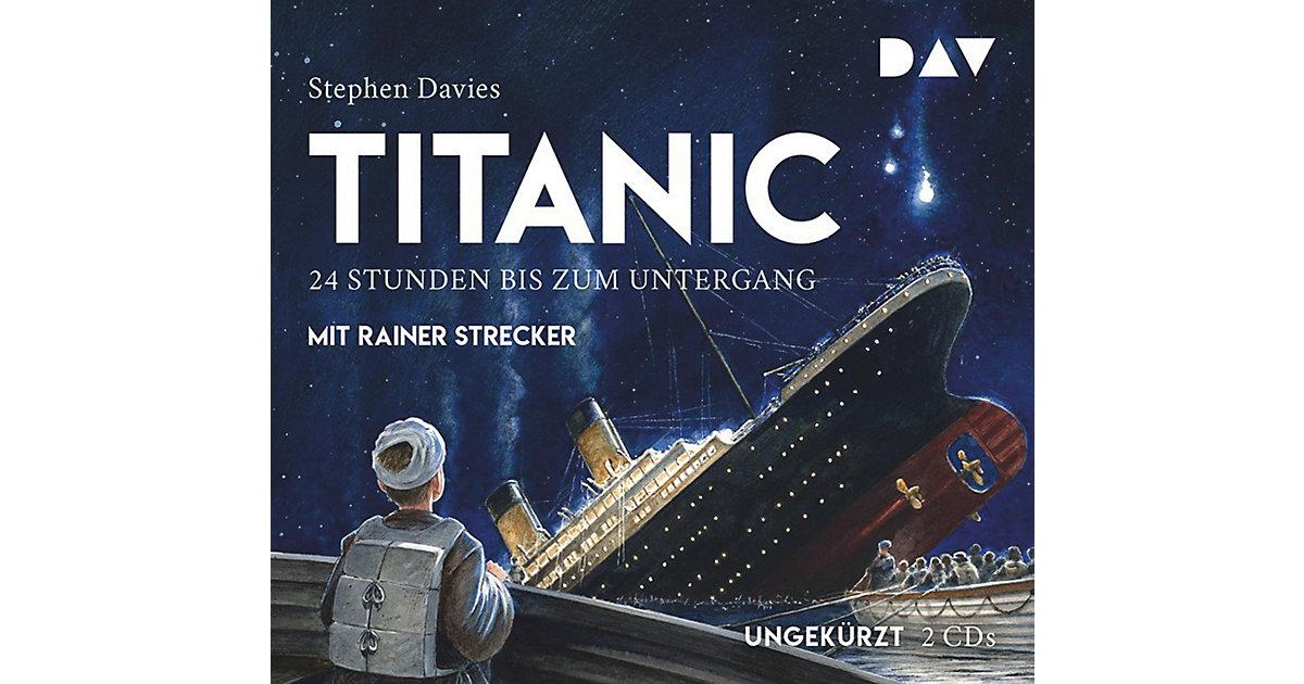 Titanic: 24 Stunden bis zum Untergang, 2 Audio-CDs