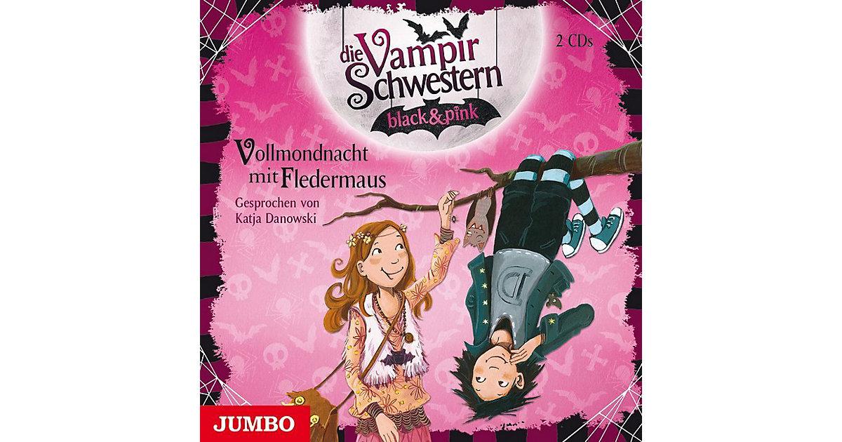 Die Vampirschwestern black & pink: Vollmondnacht mit Fledermaus, 2 Audio-CDs Hörbuch