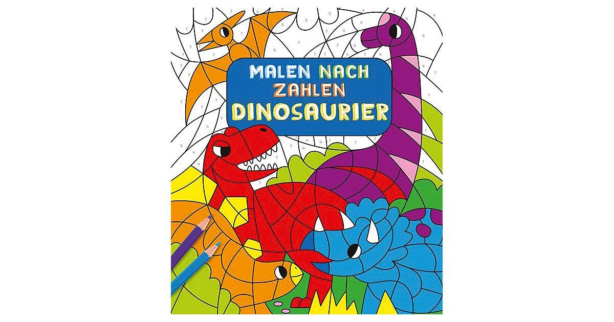 Malen nach Zahlen Kinder: Dinosaurier Kinder