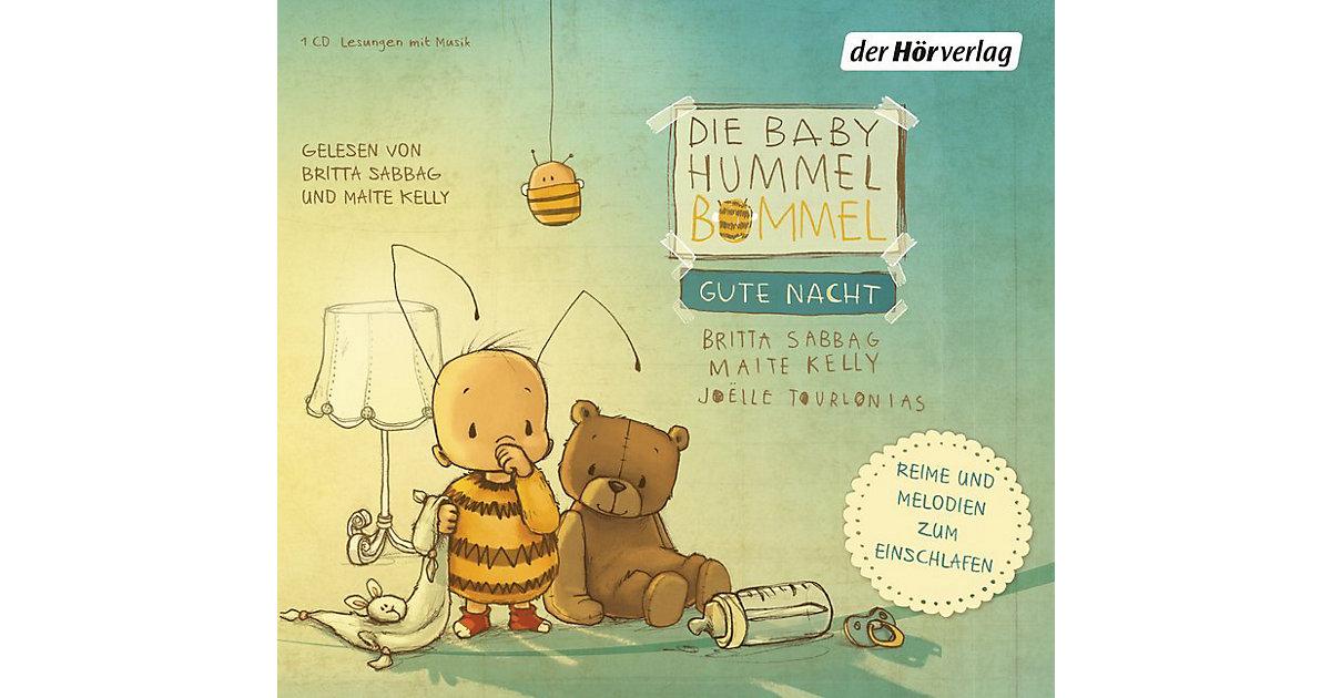 Die Baby Hummel Bommel: Gute Nacht, 1 Audio-CD