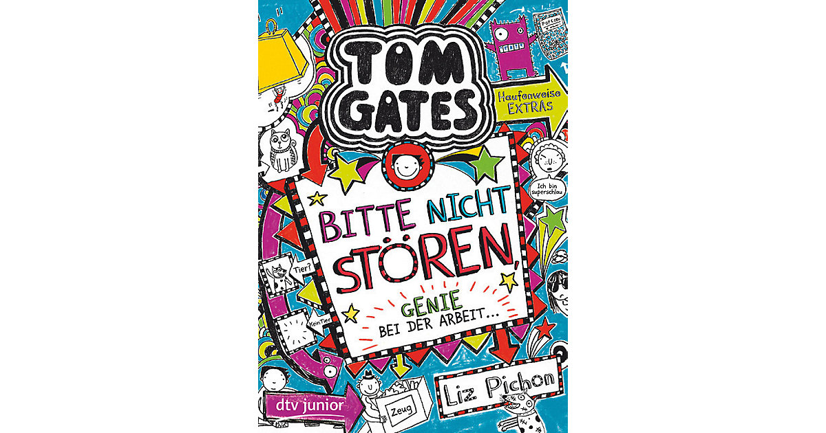 Tom Gates: Bitte nicht stören, Genie bei der Ar...