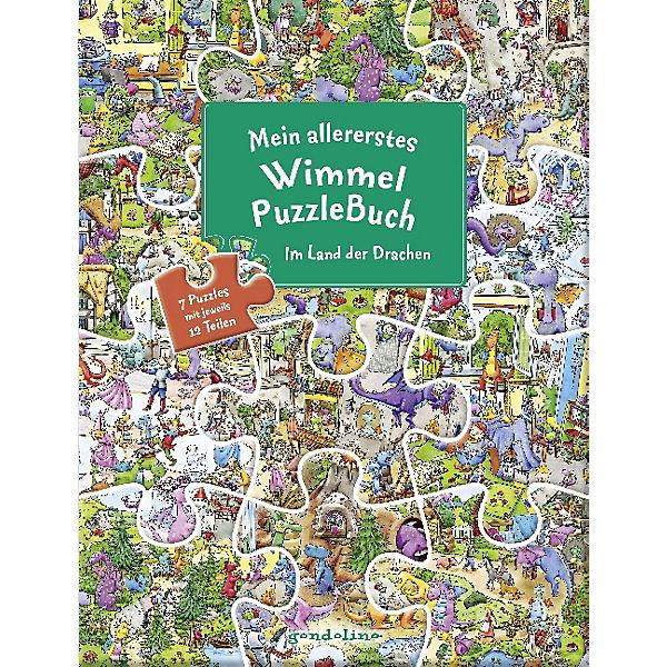 Mein allererstes WimmelPuzzleBuch: Im Land der Drachen, Gondolino Verlag