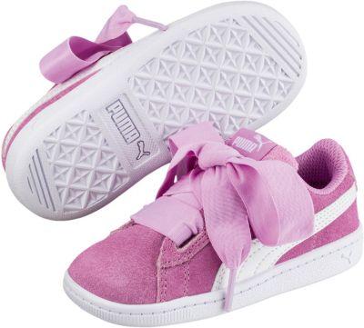 Baby Sneakers Low Puma Vikky Ribbon AC Inf für Mädchen, PUMA