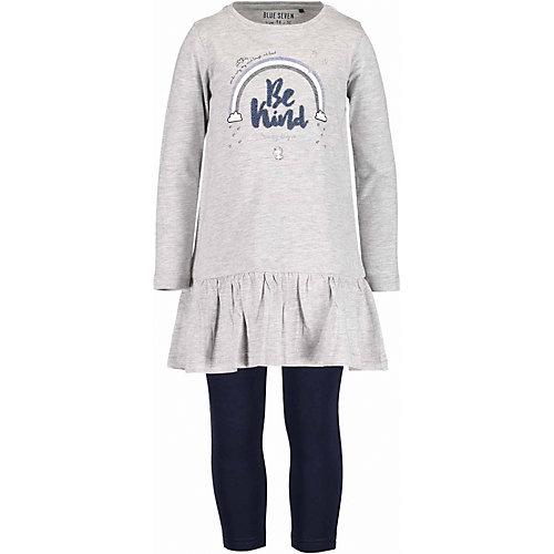 Blue Seven Kinder Set Jerseykleid + Leggings Gr. 104 Mädchen Kleinkinder   04055852207851