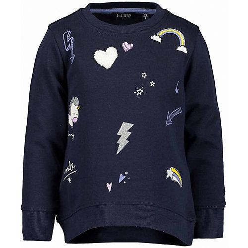 Blue Seven Sweatshirt , Einhorn Gr. 122 Mädchen Kinder | 04055852206700