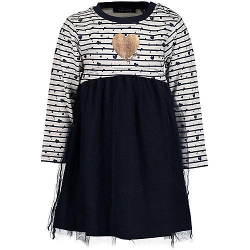 Blue Seven Baby Jerseykleid mit Tüllrock Gr. 62 Mädchen Baby   04055852216020