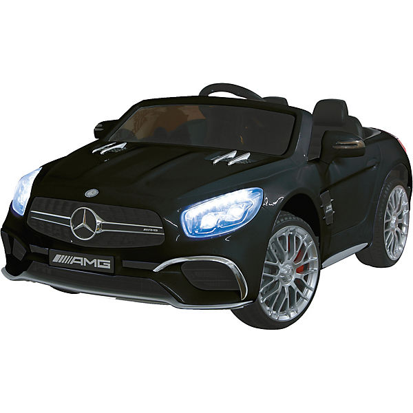Ride-on Mercedes SL65 schwarz 12V