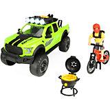 Игровой набор велосипедиста Dickie Toys Ford Raptor PlayLife, 25 см