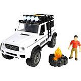 """Игровой набор Dickie Toys """"Искатели приключений"""" MB AMG 500 4x4 PlayLife, 23 см"""