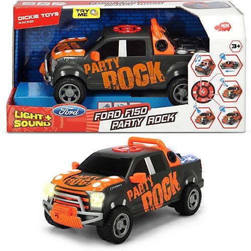 "Машинка Dickie Toys ""Форд F-150 Party Rock Anthem"", 29 см, свет и звук от Dickie Toys"