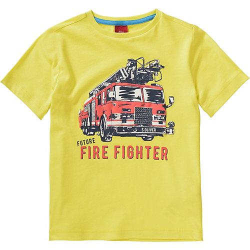 S.Oliver,s.Oliver T-Shirt Gr. 92/98 Jungen Kinder | 04055268440064