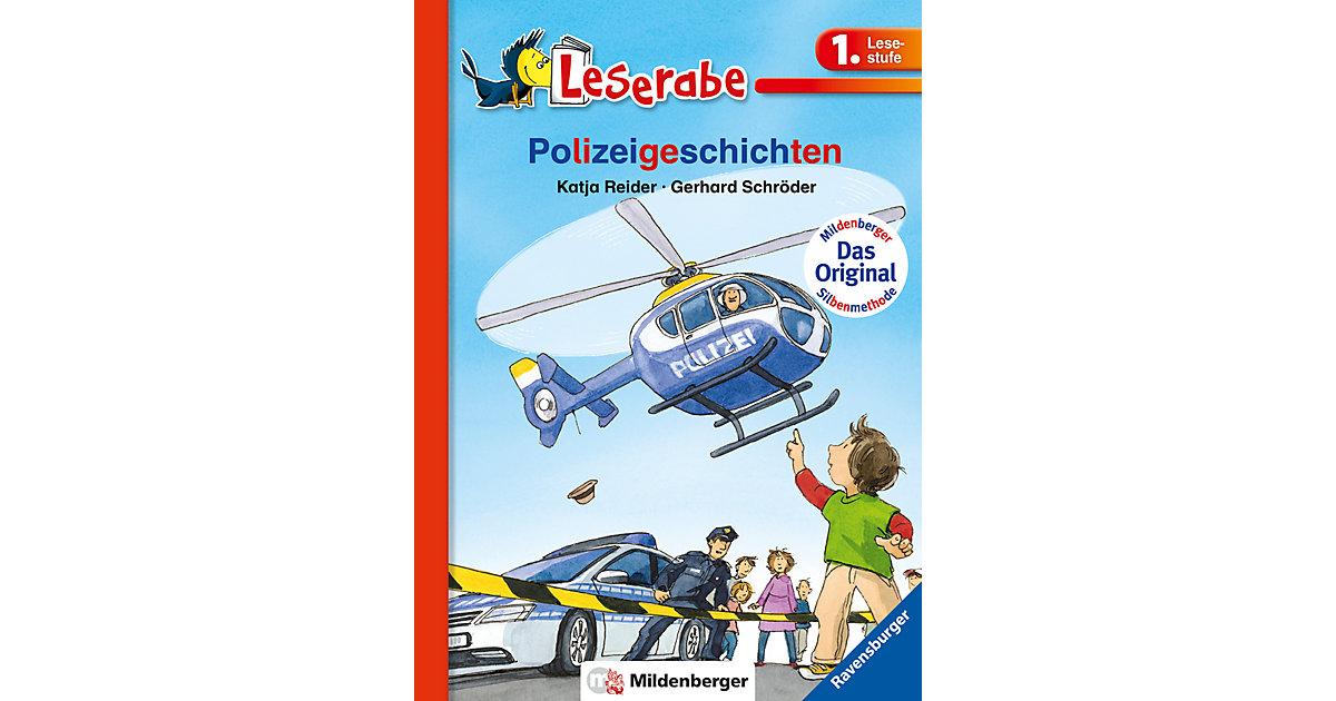 Buch - Leserabe: Polizeigeschichten, mit Mildenberger Silbenmethode