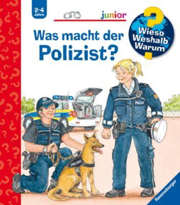 Buch - WWW junior Was macht der Polizist?