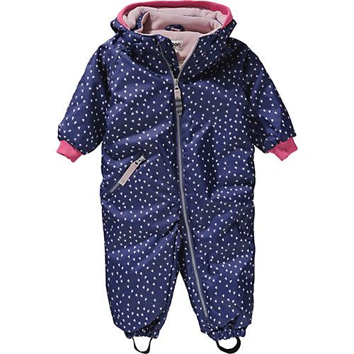 racoon outdoor Baby Schneeanzug BIBI HEART Gr. 92 Mädchen Kleinkinder   05704564083527