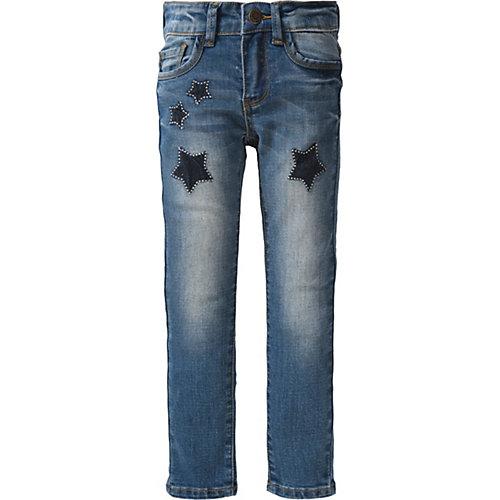 Jeans mit Sternen Gr. 128 Mädchen Kinder | 05415185920442